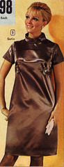 BellasHess 68 fw brown satin (jsbuttons) Tags: brown clothing 60s dress buttons womens catalog 1968 satin sixties vintagefashion bellashess