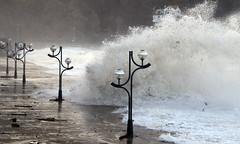 Olatu biziak (Imanol Lasa) Tags: mar wave oleaje ola marea zarautz itsasoa itxasoa olatu olatua alertaroja olatubizibiziak