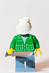Jason Voorhees (3D) I (EctoLego) Tags: jason lego horror friday 13th minifigure voorhees customlego brickarms brickforge