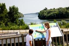Espaces visiteurs passe à Poissons - Besucherzentrum der Fischtreppe