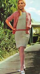 Bear Knit 68 cardi jacket (jsbuttons) Tags: sweater clothing knitting dress buttons knit handknit womens 1968 knitted cardigan sixties 68 vintagefashion