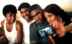Love Family Selfie (A_CoolBean) Tags: lighting family portrait love nikon familyportrait d800 selfie 2470mm profoto blackfamily nikond800