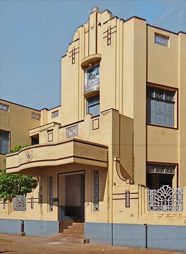 Maison art déco de Kanadukathan (Inde)