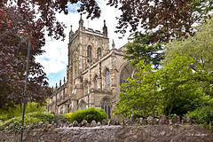 Great Malvern Priory (johnwilly) Tags: uk churches canon5d malvern ef24105lis bwcpl bmalvern