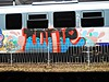 icre. (ycre) Tags: train graffiti panel trafic cfr circula tranzit sageataalbastra icre windowscleaned luearrow cleanedpanel