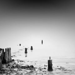 ... (alexey sorochan) Tags: longexposure sea blackandwhite water landscape dead milk long exposure waterfront salt odessa ukraine waterside ndfilter daytimelongexposure ndstopfilter