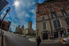 Corner Of James Street (O'Brien Photography) Tags: street city england sky urban cloud white building sorry loss strand corner liverpool canon was star james is balcony visit location an line fisheye announcement made when april beyond 1912 adventures rms titanic 8mm which telling leading tale starting the in 600d my i of