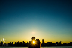 NYC- Engagement At Dawn (DeadboltPhotos) Tags: nyc color love landscape engagement cityscape weddingphotography engagementshoot deadboltphotos
