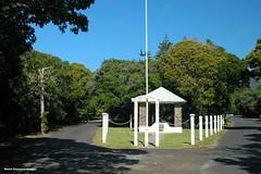 War Memorial, Lagoon Road, Lord Howe Island, NSW (Black Diamond Images) Tags: australia nsw cbd warmemorial lestweforget lordhoweisland lordhowe lagoonroad thelastparadise