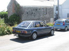 Ford Escort Ghia. (RUSTDREAMER.) Tags: ford cornwall 1985 escort ghia staustell bangernomics rustdreamer