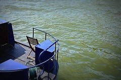 #36..  Seating For One.. (Beside the Water).. (mik-shep) Tags: water river bristol chair nikon seat 36 barge avonriver d5200 besidethewater 114picturesin2014