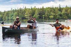 21st Century Pirates #2 (Ahmed Abu Rshaid) Tags: lake canada nature river funny novascotia kayaking canoeing mersey merseyriver canonef70200mmf4is boatflip canoeingandkayaking saudiincanada