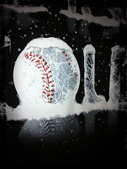 Cold Softball - Closeup
