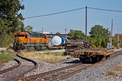 Team Track (Trainboy03) Tags: burlington northern santa fe bnsf 2335 moline illinois il