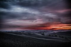 Tuscany II (alexanderkoch) Tags: landschaft outdoor landscape siena tuscany toskana cloud wolken wolkendecke acre italy crete senesi
