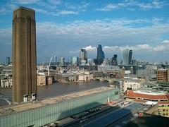 View from the Tate Modern extension (Gareth Bellamy) Tags: tatemodern london skyline londonskyline tate modern