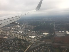 (reezy87) Tags: american americanairlines boeing 737800 737 738 winglet chicago boston ohare logan airport mcdonnelldouglas md80 inflightmeal food menu wing flags spoilers