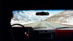 On the road (ofarrl) Tags: truck trucking i80 interstate utah usa schneidernational 1995 international9670 transportation 18wheeler semitruck scan oldphoto bigrig