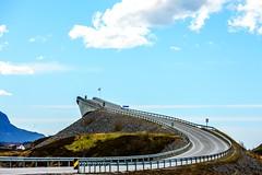 The Atlantic Jump (Ronny Kvande) Tags: norway nikon landscape brigde atlantic road water atlanticroad jump ngc