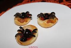 PIZZETTE RAGNETTO DI HALLOWEEN (RicetteItalia) Tags: ricetteveloci ricette halloween