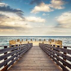 Sea Selfie (augello.info) Tags: 500px sea seascape sunset water pier sky ocean clouds selfie symmetry symmetric avola siracusa sicily