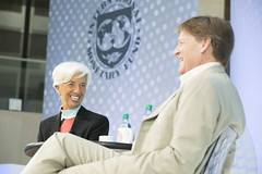 AM16 One-on-One with Christine Lagarde, featuring Michael Lewis (International Monetary Fund) Tags: 2016imfworldbankannualmeetings managingdirectorchristinelagarde oneonone michalelewis washington dc unitedstates