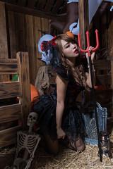 DSC_7449 (Robin Huang 35) Tags: 孫卉彤 candy miruna萬聖風 小惡魔 吸血鬼 vampire 萬聖節 halloween 棚拍 lady girl d810 nikon devil