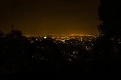 Bergamo dall'alto (mauro.cagna) Tags: nikon d5100 bergamo san vigilio citt alta notturno luci laowa