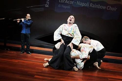 #coracor  @cor4cor #napoli #rainbow #choir  #napolirainbowchoir #naples #music #cultura #coro #canto #performer #gay #lgbt #humanrights @cr0matica #live#georgius #ravelloday #salernofestival #arcc #feniarco