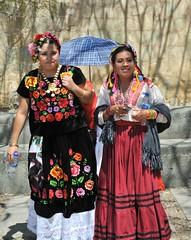 Oaxacan Women Mexico (Ilhuicamina) Tags: zapotecas mujeres women zapotec oaxaca mexican tehuana coatlan trajes textiles clothing