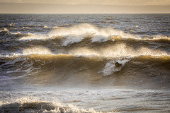 Rest Bay Sunset Surf (livin the dream*) Tags: restbay surf surfer wales southwales coast sea waves sunset westsuit surfboard soulsurf walessurf coastline autumn nikon wfc welshflickrcymru porthcawl