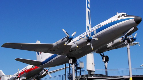 Vickers 708 Viscount in Sinsheim