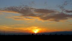 IMG_0112x (gzammarchi) Tags: italia paesaggio natura pianura campagna ravenna villanovadiravenna tramonto sole nuvola