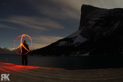 Peace to the Mountain (ryan.kole32) Tags: canmore canmorealberta alberta canada canadianrockies rockies rockymountains landscape nature beauty beautyinnature lightpainting haslingpeak longexposure night nightscape nightphotography sony sonya77 travel outdoors hiking clouds water bowriver bowvalley peaceful calm tranquil snow cold winter brilliant