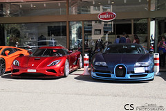 Left or right ? (Chris Photography.) Tags: koenigsegg agera bugatti veyron vitesse car canon cars chrisphotographymc automotive luxury legend monaco mc montecarlo tmm topmarques supercar spotting supercars