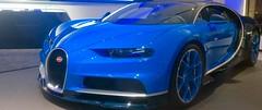 "Munich after sunset: the new ""Bugatti Chiron""... (F.R.L., thanks for your views and comments!) Tags: bugatti bugattichiron munich night"