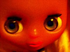 Blythe 1 (Fire Engine Red) Tags: digitalart corelpaintshopprox8 playingwithscripts blythedoll doll femaledoll