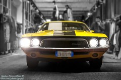 1972 Dodge Challenger RT (Gianluca Petrucci) Tags: automobile car dodge challenger 60 70 muscle yellow rt oldschool american
