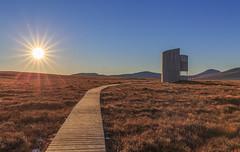 Forsinard Flow (avaird44) Tags: forsinard countryflow caithness scotland rspb watchtower boardwalk moor sun hills architecture