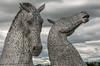 The Kelpies (IceNineJon) Tags: unitedkingdom scotland stirlingshire photography greatbritain canon5dmarkiii andyscott thehelix falkirk europe thekelpies grangemouth 5dm3 britain uk sculpture art horse kelpies