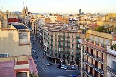 A view from Casa Mila (Yuri Rapoport) Tags: torreagbar sagradafamilia casamila lapedrera gaudi barcelona catalonia spain 2013