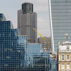 Tower 42 (Spannarama) Tags: buildings glass windows reflections architecture tower42 walkietalkie skyline london uk square