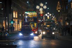 Knigthsbridge (www.javierayala-photography.com) Tags: knigthsbridge london londres england doubledecker night lights colours inglaterra christmas