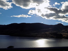 ft. collins, colorado (just me julie) Tags: ftcollins colorado clouds sky lake mountains water