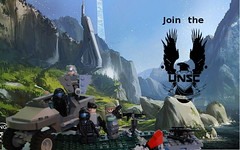 unsc (my name is schimmi) Tags: lego halo unsc marines odst warthog