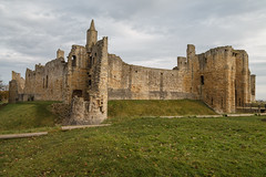 Warkworth Castle Curtain Walls and Towers (Beth Hartle Photographs2013) Tags: castle northumberland warkworth percy historic
