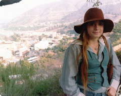 My sister during our stay in Los Angeles to visit the cousins. We were in the Hollywood Hills and you can see some of the Universal Studios TV and movie sets in the distance. Los Angeles, California. Dec 1978 (wavz13) Tags: oldphotographs oldphotos 1970sphotographs 1970sphotos oldphotography 1970sphotography vintagesnapshots oldsnapshots vintagephotographs vintagephotos vintagephotography filmphotos filmphotography oldfamilyphotos vintagefamilyphotos oldfamilyphotography vintagefamilyphotography 110film kodacolor analogphotography instamatic pocketinstamatic vintageteengirls vintageteenagegirls female longhair oldclothes vintageclothes oldclothing vintageclothing teenagegirls teengirls oldlosangeles vintagelosangeles 1970slosangeles oldla vintagela 1970sla oldhats vintagehats prettygirls attractivegirls oldcalifornia vintagecalifornia 1970scalifornia