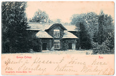 Kew - Queens Cottage (pepandtim) Tags: postcard old early nostalgia nostalgic kew queens cottage stengel dresden berlin 07101903 1903 sytherleigh longton grove road weston super mare undivided stock divided 1902 jules levy recorded last rose summer london 28041839 1839 27kqc28