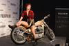 Bad girs with the Harley Davidson (Majorimi) Tags: canon eos 70d digital color colorful nice hungary bad girl girls tatoo cool modell pose woman studio motor motorcycle style set light flash