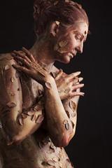 Autunno (Elido Turco - Gigi) Tags: elidoturco elidoturcocom elidoturcoelidoturco allegoriecorporee allegorie bodypaintingartist body painting